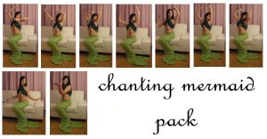 chanting mermaid pack by syccas-stock
