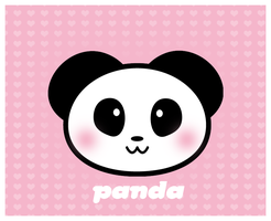 Panda by Ha-nee