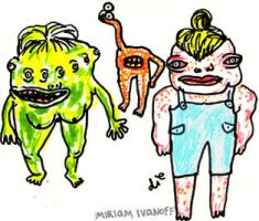 Sketchbook: Monster Characters by flunkmaster