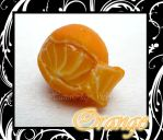 Miniature Orange by HanaClayWorks