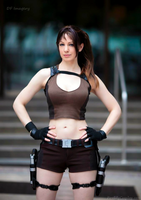 Lara Croft, Tomb Raider: Underworld by FireLilyCosplay