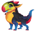 If birds were dragons: Toucan by Kiwibon
