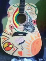 Guitar art! by BeauttifullDisaster