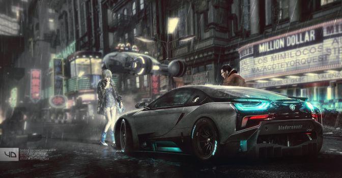 Blade Runner i8 - Copy by yasiddesign