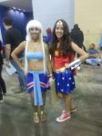 Kida and Wonder Woman cosplay by Shippuden23