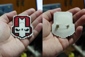 Castle Crashers: Red Knight stitched by rockmanzero