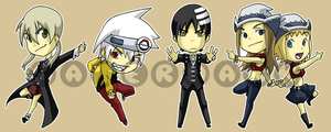 Stickers: Soul Eater 1 by forte-girl7