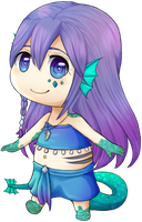 [Gift] Chibi Nerina by chemicaRouge