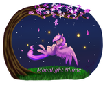 [COMM] Moonlight-Blume Animation by SilentWulv