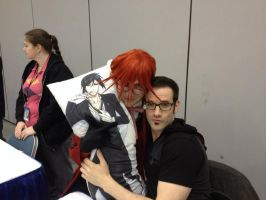 Grell and J Michael Tatum by DigiDrawer