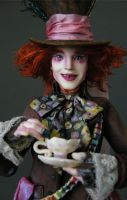 Johnny Depp - Mad Hatter 4 by wingdthing