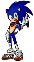 Sonic Boom - Sonic the Hedgehog by Kamira-Exe