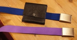 Belts and belt bag by g-key