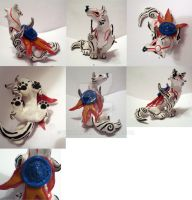 New Okami Figurine multiview by TerraLove