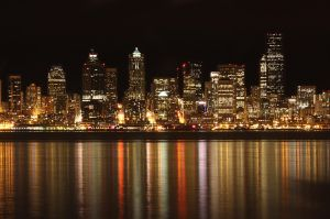 Seattle Night by h00n3r