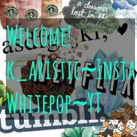 Welcome to my home of art and stuff(  ) by ArtisticPop