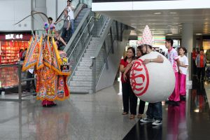 Local Culture at the Airport by johnchan