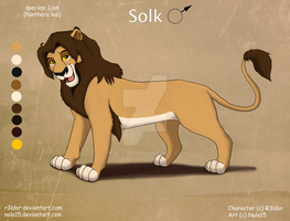 Solk - Ref Sheet Commission by Nala15