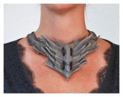 goblin queen necklace by silvercrow