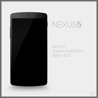 Nexus 5 : PSD by danishprakash