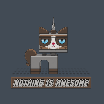 Nothing Is Awesome by GriftGFX
