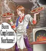 Buon Compleanno Noorhanne by VKliza