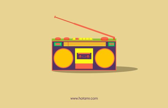 old cassette - Devices (T-Shirt at Redbubble.com) by hotamr