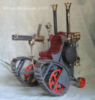 A series Russian steampunk by RostMironov