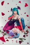 Morrigan Aensland and Lilith. Darkstalkers. by Zyaaa