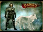Jon Snow and Ghost by SharksDen