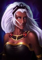 Storm - X-men - Fanart by gegemac
