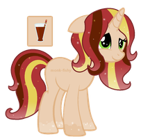 Spiced Apple Christmas Pony Adoptable Auction SOLD by MonkFishyAdopts