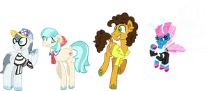 The Rainbow Reminders Unique Style by StarryOak