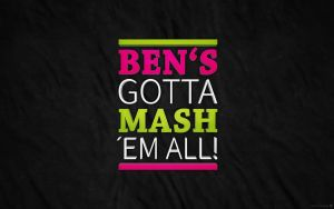 Widescreen - Ben's gotta mash em all by Sed-rah