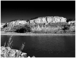 The Cliffs Over the River by loathsome-weasel