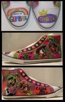 The Fairly OddParents Shoe by SharpieSam