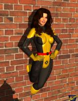 Kitty Pryde Pin Up by ImfamousE