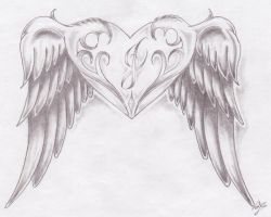 winged heart by TimberTime