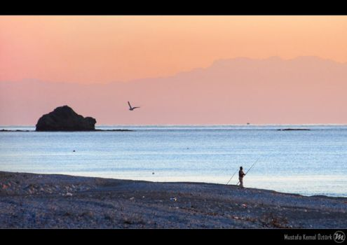 Sunrise Fishing by MKO