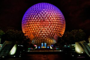 Epcot Center - HDR by Leandro2009
