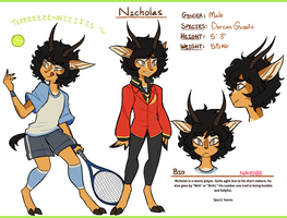 + RD Character Design Contest : Nicholas + by Nayobe