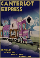 Canterlot Express by Skeptic-Mousey
