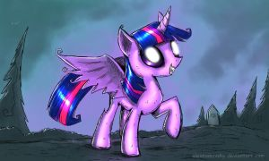 Twilight Sparkle princess of friendship by alexmakovsky