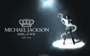 MJ King of POP by azizjon