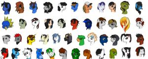 Ponies of Equestria Chile by BlueSky-Grifo