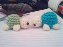 Crochet Turtles - The first of many by CreationsbyJolie