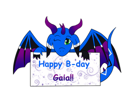 Happy Birthday Gaia! by Eifi--Copper