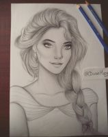 Queen Elsa ( my version) by staceyElmoro