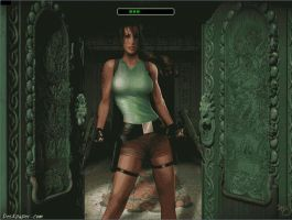 Tomb Raider Boot Screen by Nait0