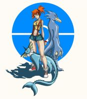 misty fanart by elf-x